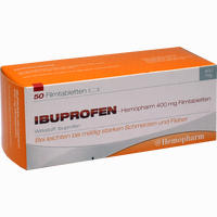 Ibuprofen-hemopharm 400mg Filmtabletten   50 ST