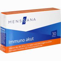 Abbildung von Immuno Akut Menssana Kapseln 30 Stück