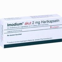 Imodium Akut  Kapseln Kohlpharma 6 Stück