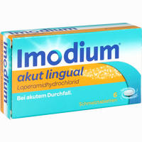 Abbildung von Imodium Akut Lingual 6 Stück