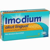Imodium Akut Lingual 12 Stück