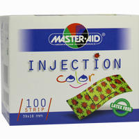 Injection Strip Color 39x18mm Kinderpflaster Master-aid  1 Stück