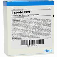 Abbildung von Injeel-chol Ampullen  10 Stück