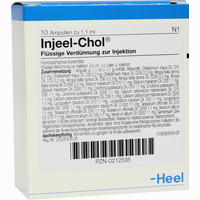 Injeel-chol Ampullen  10 Stück