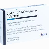 Abbildung von Jodid 100 Tabletten  100 Stück