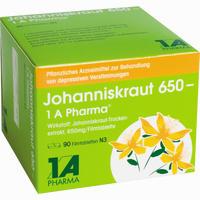 Johanniskraut 650 - 1 A Pharma  Filmtabletten 90 Stück