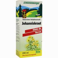Johanniskraut-pflanzensaft   200 ml