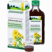 Abbildung von Johanniskrautsaft Schoenenberger  200 ml