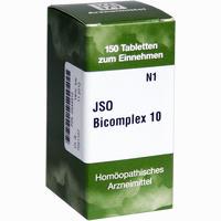 Abbildung von Jso Bicomplex 10 Tabletten 150 Stück