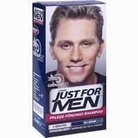 Abbildung von Just for Men Pflege- Tönungs- Shampoo Natur Hellbraun  60 ml