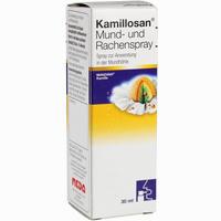 Abbildung von Kamillosan Mund- und Rachenspray  30 ml
