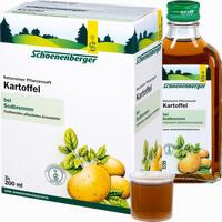 Kartoffel Schoenenberger Naturreiner Pflanzensaft Saft 3X200 ml