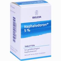 Abbildung von Kephalodoron 5% Tabletten 100 Stück