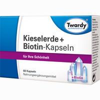 Abbildung von Kieselerde + Biotin- Kapseln  60 Stück