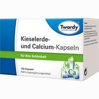 Kieselerde Und Calcium Kapseln 160 Stück