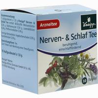 Kneipp Nerven- & Schlaftee  Filterbeutel 10 Stück