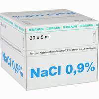 Kochsalzlösung 0.9% Mini-plasco Connect  Injektionslösung 20X5 ml