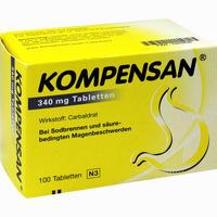 Abbildung von Kompensan 340mg Tabletten  100 Stück