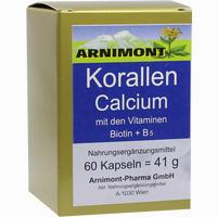 Korallen Calcium  Kapseln Arnimont Pharma 60 Stück
