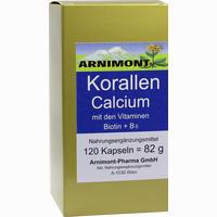 Korallen Calcium  Kapseln Arnimont Pharma 120 Stück