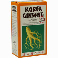 Korea Ginseng Extra Stark Kapseln  80 Stück