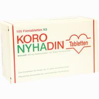 Abbildung von Koro- Nyhadin Filmtabletten 100 Stück