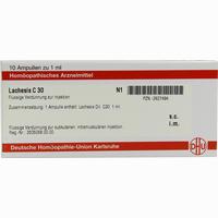 Lachesis C30  Ampullen 10X1 ML