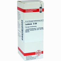 Lachesis D30  Dilution Dhu-arzneimittel 20 ML