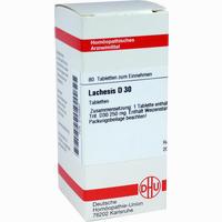 Lachesis D30  Tabletten 80 ST