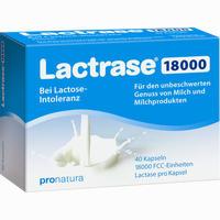 Abbildung von Lactrase 18000 Fcc Kapseln  40 Stück