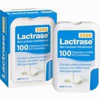 Abbildung von Lactrase 3300 Fcc Tabletten im Klickspender 100 Stück