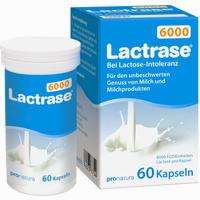 Abbildung von Lactrase 6000 Kapseln 60 Stück
