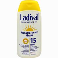 Abbildung von Ladival Allergische Haut Gel Lsf 15 200 ml