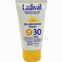Abbildung von Ladival Allergische Haut Gesicht Lsf 30 Gel 75 ml