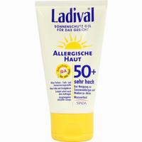 Abbildung von Ladival Allergische Haut Gesicht Lsf 50+ Gel 75 ml