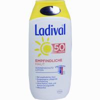 Abbildung von Ladival Empfindliche Haut Lsf 50 Lotion 200 ml