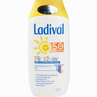 Abbildung von Ladival für Kinder bei Allergischer Haut Lsf 50+ Gel 200 ml
