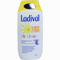Ladival Kinder Sonnenmilch Lsf50+   200 ML