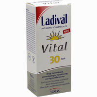 Abbildung von Ladival Vital Anti Aging Creme Lsf 30  75 ml
