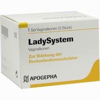 Ladysystem Vaginalkonen Set 1 Stück
