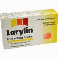 Abbildung von Larylin Husten Stiller D Pastillen 24 Stück