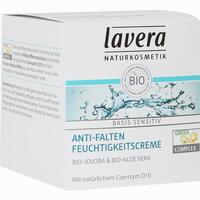 Abbildung von Lavera Basis Sensitiv Feuchtigkeitscreme Q10  150 ml