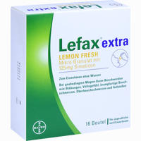 Abbildung von Lefax Extra Lemon Fresh Granulat 16 Stück