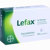 Abbildung von Lefax Kautabletten  100 Stück