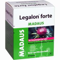 Legalon Forte Madaus Kapseln   60 Stück