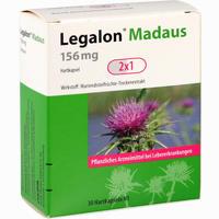 Abbildung von Legalon Madaus 156 Mg Hartkapseln 30 Stück
