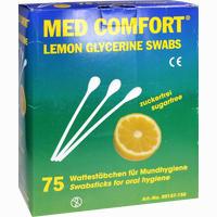 Lemon Swabs Mundpfl Staebc 25 Stück
