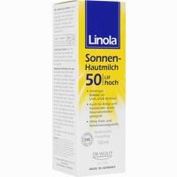Abbildung von Linola Sonnen- Hautmilch Lsf50 Lotion 100 ml