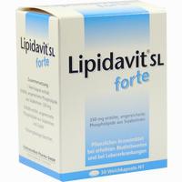 Lipidavit Sl Forte  Kapseln 50 Stück