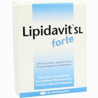 Lipidavit Sl Forte  Kapseln 20 Stück